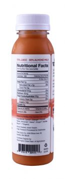 Vital Juice: VitalAlmond Carrot Facts