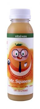 Vital Juice: VitalKids MrSqueeze Front