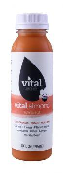 Vital Juice: VitalAlmond Carrot Front