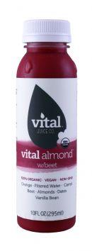 Vital Juice: VitalAlmond Beet Front