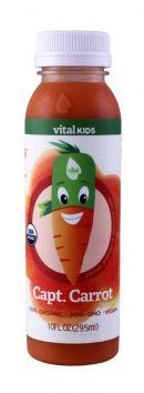 Vital Juice: VitalKids CaptCarrot Front