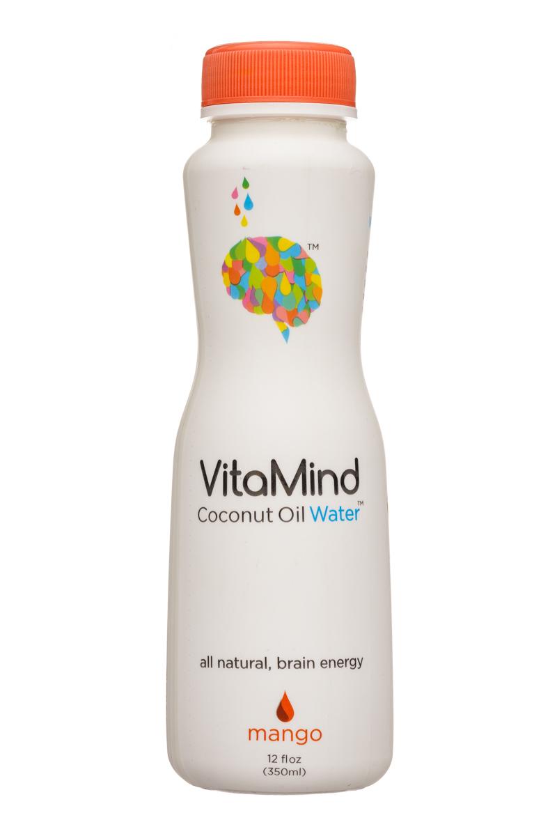 VitaMind: VitaMind-12oz-CoconutOilWater-Mango-Front