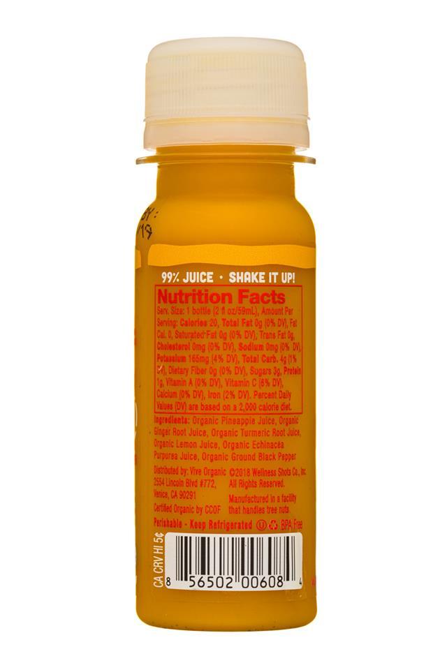 Vive Organic: ViveOrganic-2oz-Shot-ImmunityBoost-Facts