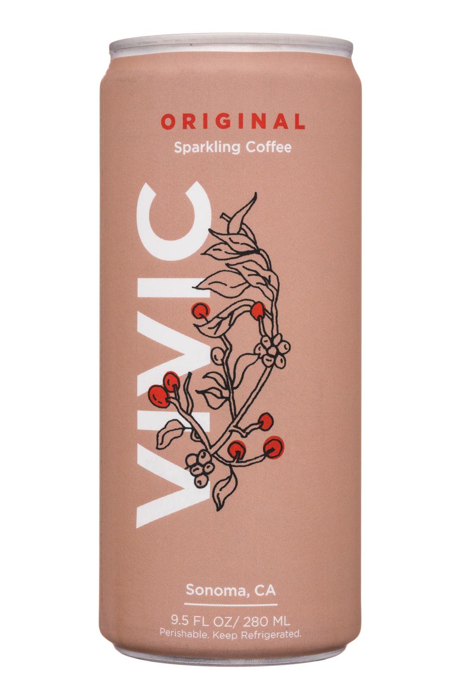 Vivic: Vivic-10oz-SparklingCoffee-Original-Front