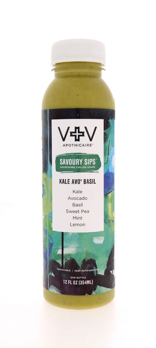 V+V Apothicaire: VH SavourySips Kale Front
