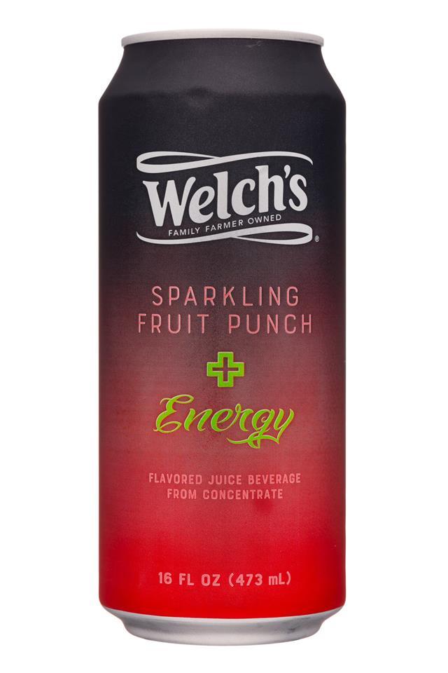 Welch's Sparkling Soda: Welchs-16oz-SparklingEnergy-FruitPunc-Front
