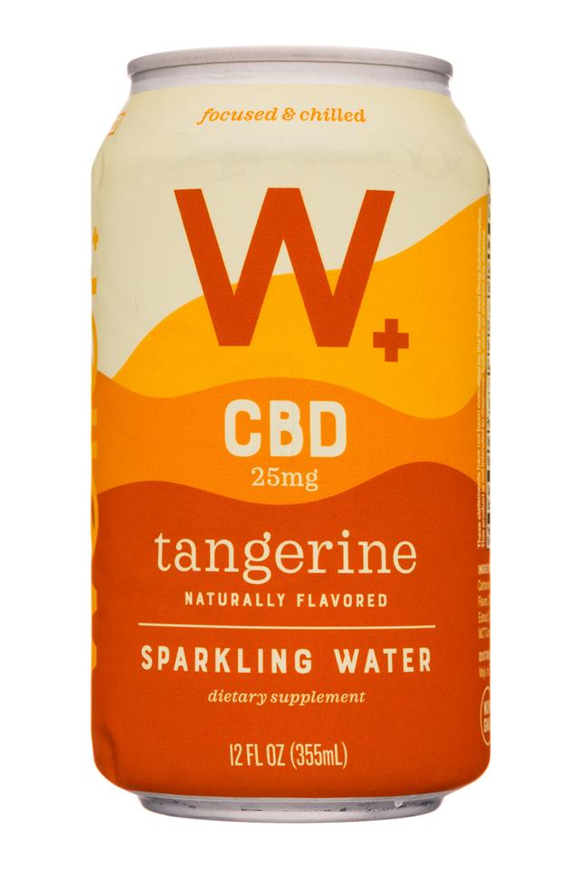 Weller +: Weller-12oz-CBDSparklingWater-Tangerine-Front