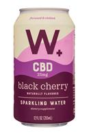 Weller +: Weller-12oz-CBDSparklingWater-BlackCherry-Front