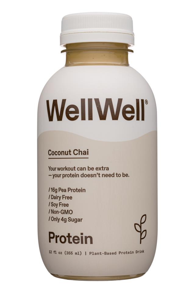 WellWell: WellWell-12oz-2020-Protein-CoconutChai-Front