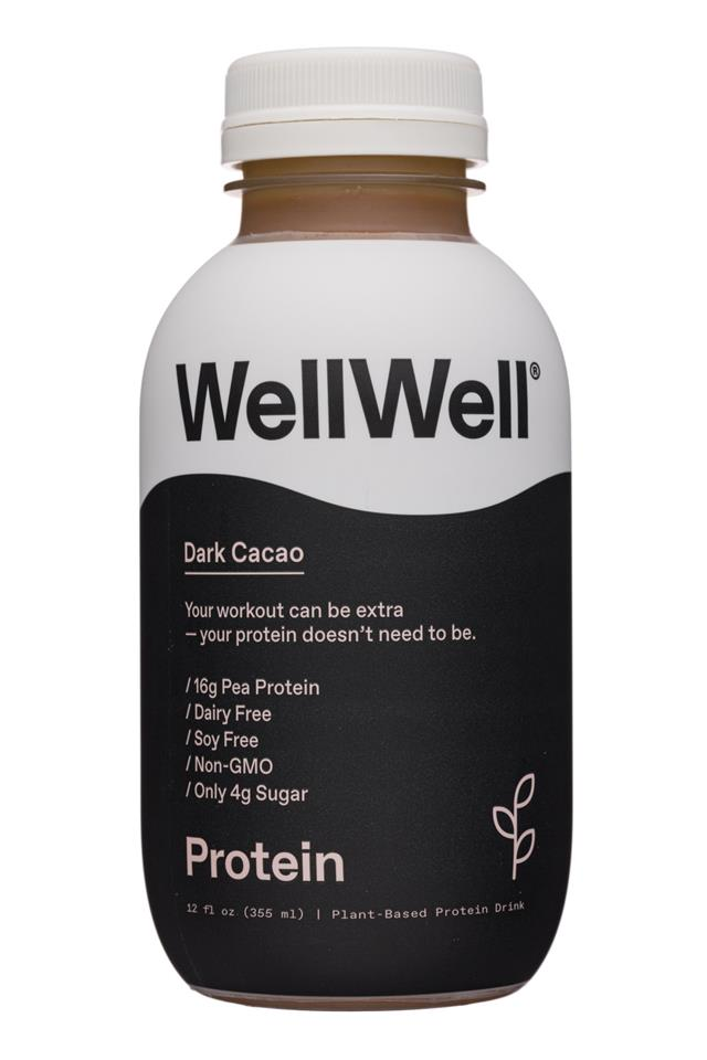WellWell: WellWell-12oz-2020-Protein-DarkCacao-Front