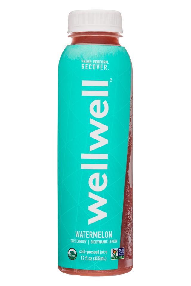 WellWell: WellWell-12oz-Watermelon-Front