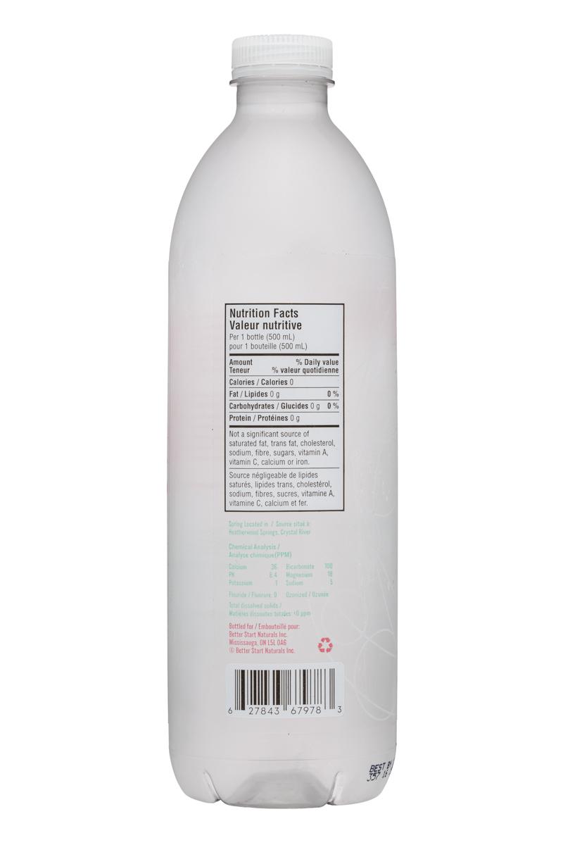 Welo Alkaline: Welo-500ml-AlkalineSpringWater-Facts