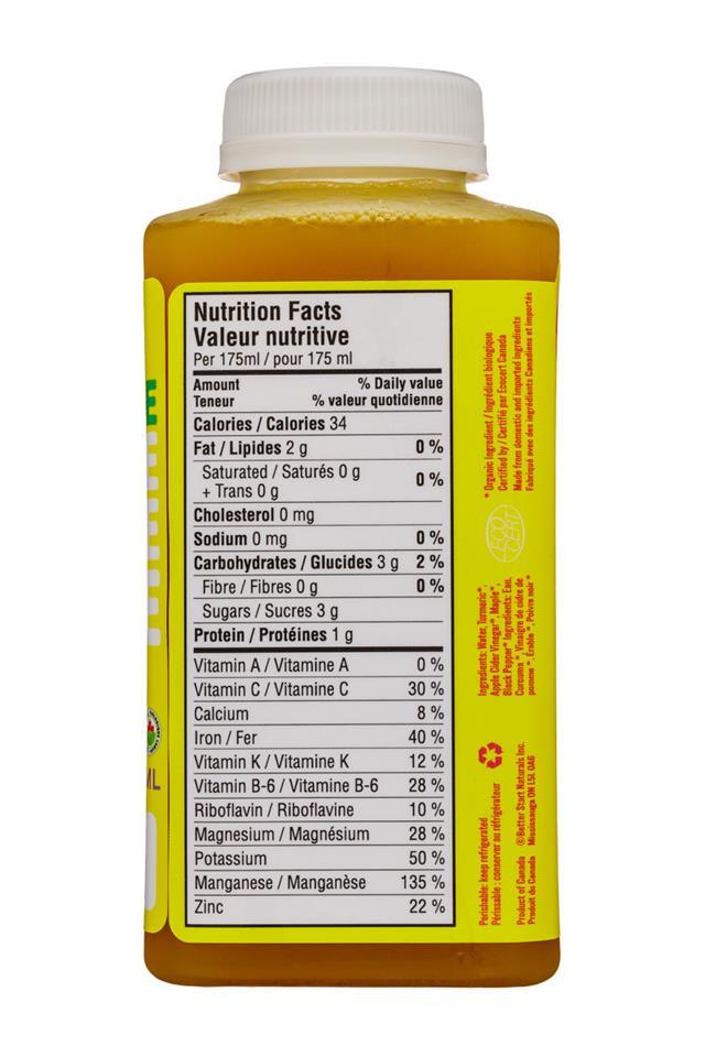 Welo Apple Cider Vinegar: Welo-350ml-ACV-TurmericBlackPepper-Facts