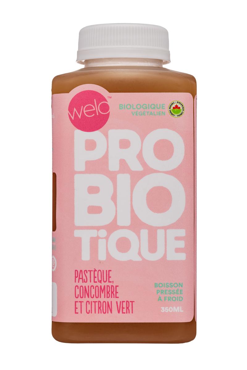 Welo Probiotic : Welo-350ml-ColdPressedProbiotic-CucumberLime-Front