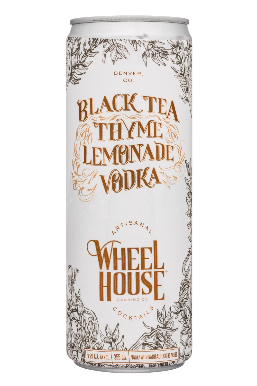 Wheel House Cocktails: WheelHouse-9oz-BlackTeaThymeLemonadeVodka