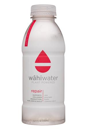 WâhiWater: WahiWater-17oz-2020-PlantWater-Repair-Front