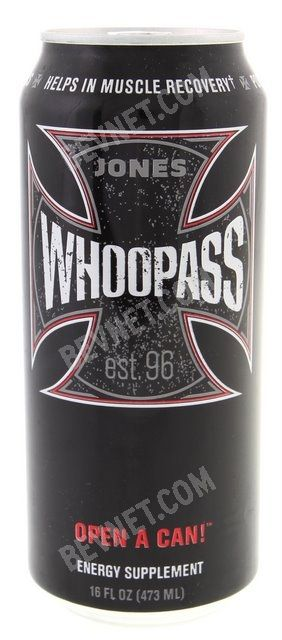 Jones Whoop Ass Energy Drink:
