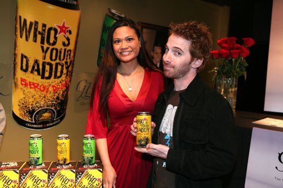 Who's Your Daddy Energy Drink: SETH GREEN & WYD