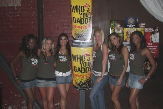 Who's Your Daddy Energy Drink: Promo