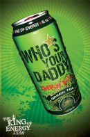 Who's Your Daddy Energy Drink: Green Tea Energy Drink