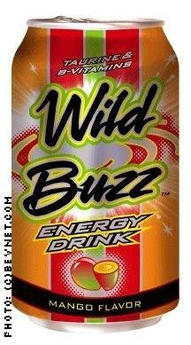 Wild Buzz Energy Drink: WB12ozMANGO.jpg
