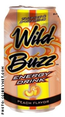 Wild Buzz Energy Drink: WB12ozPEACH.jpg