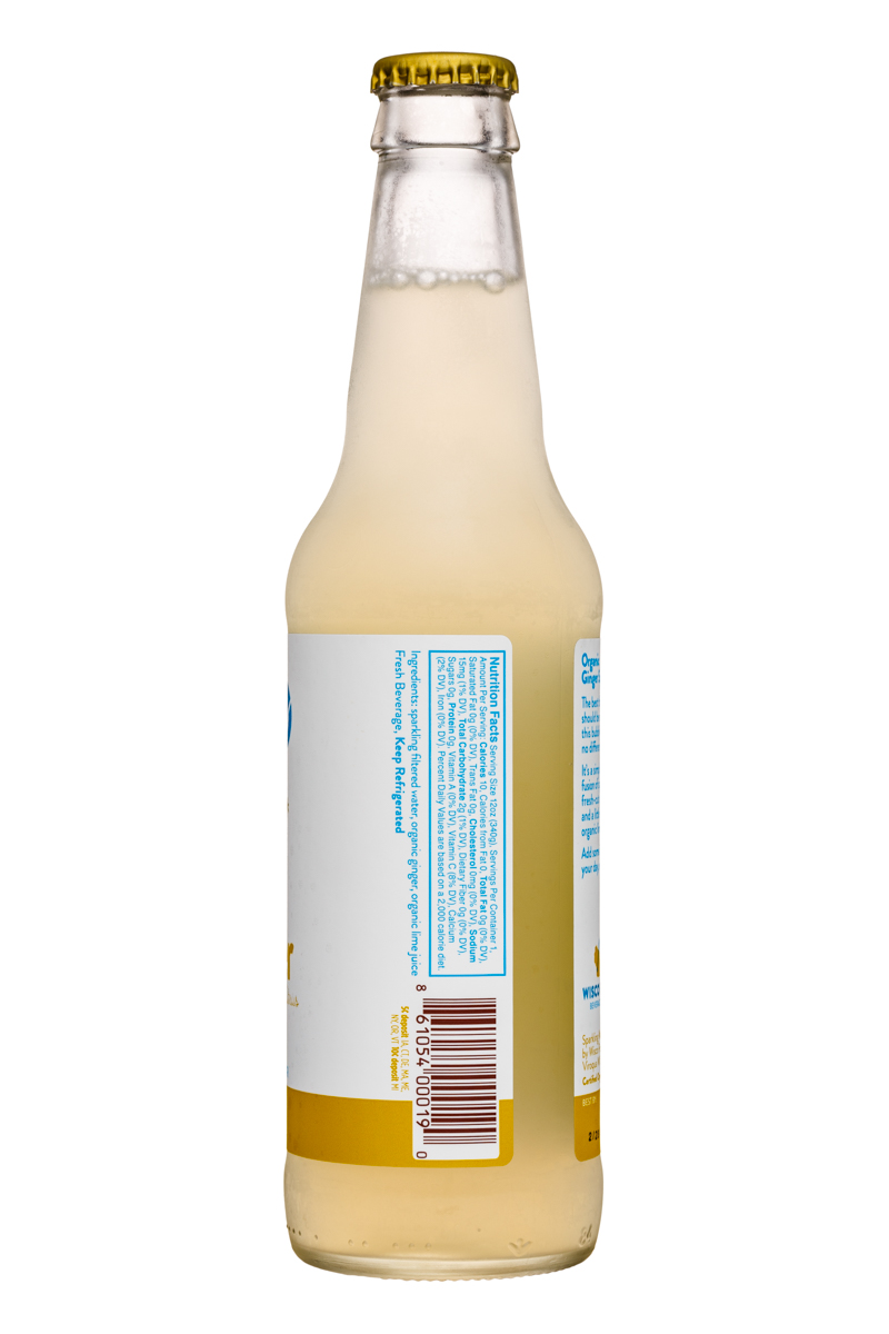 Wisco Pop! Sparkle: Sparkle-12oz-SparklingWater-Ginger-Facts