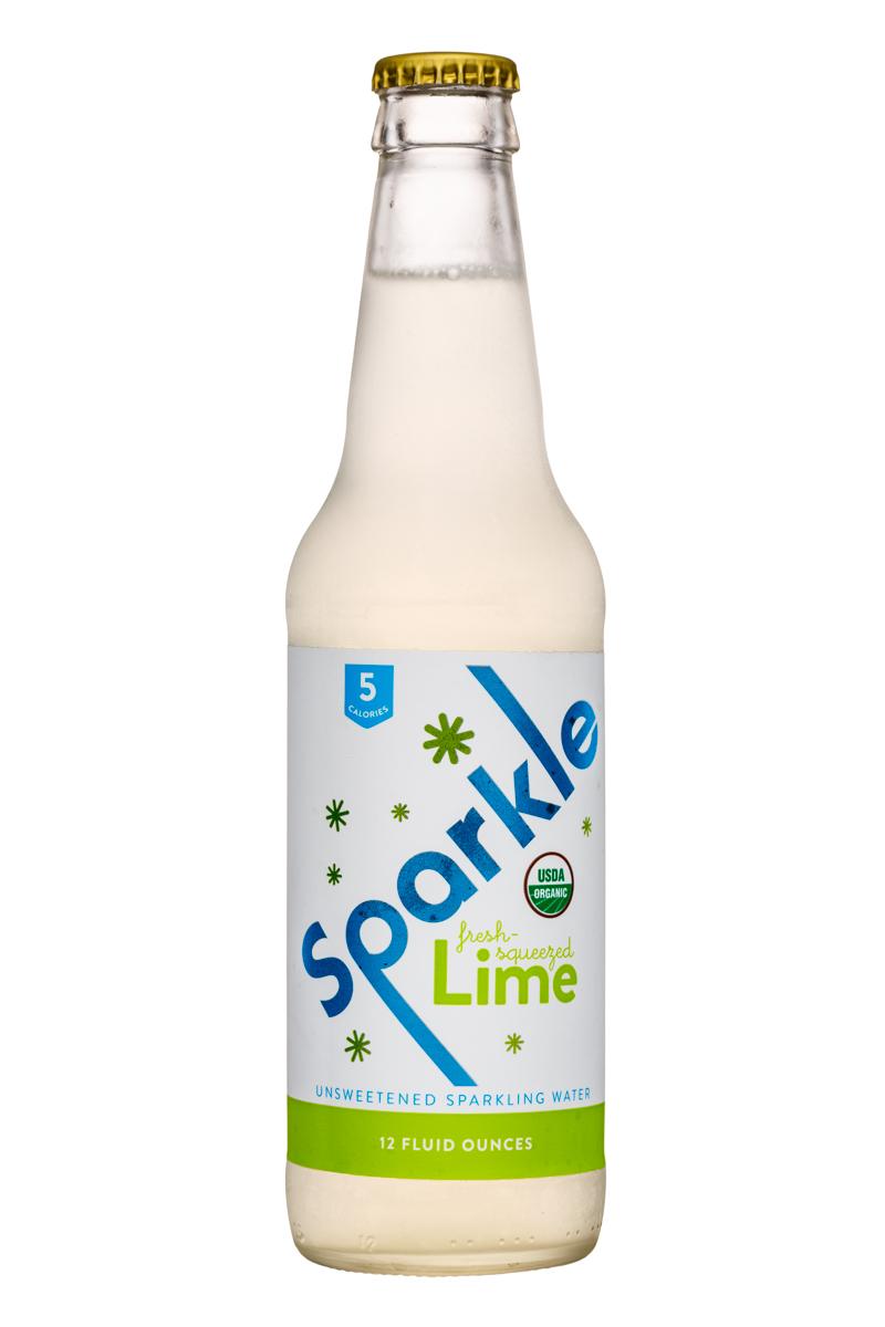 Wisco Pop! Sparkle: Sparkle-12oz-SparklingWater-Lime-Front