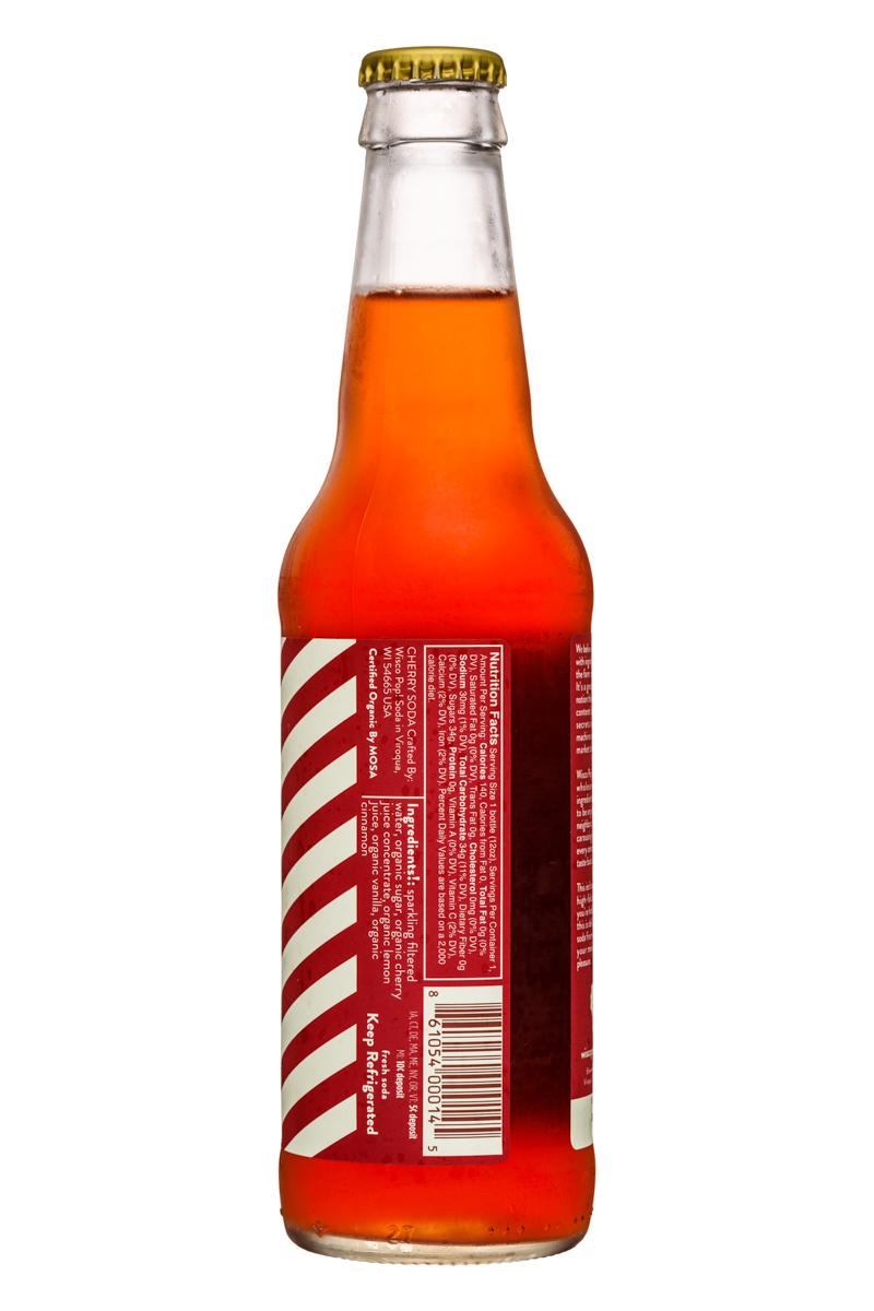 Wisco Pop! Soda: WiscoPop-12ozBottle-Cherry-Facts