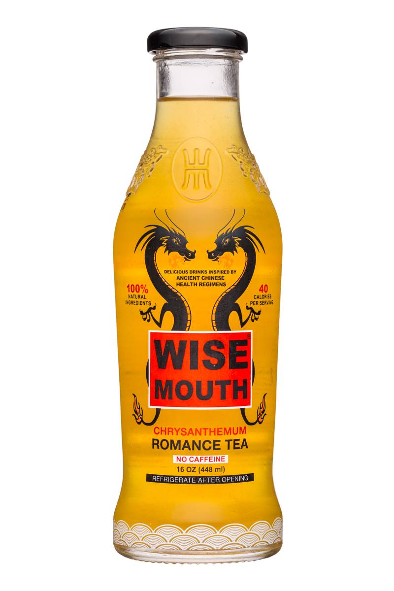 Wise Mouth: WiseMouth-16oz-RomanceTea-Front