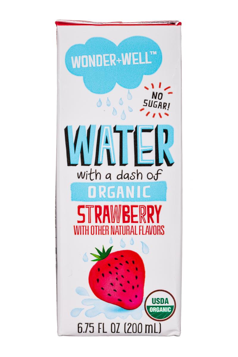 Wonder + Well: WonderWell-7oz-Water-Strawberry-Front