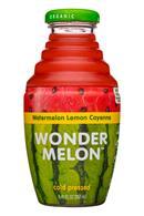 Wonder Melon: WonderLemon-8oz-WatermelonLemonCayene-Front