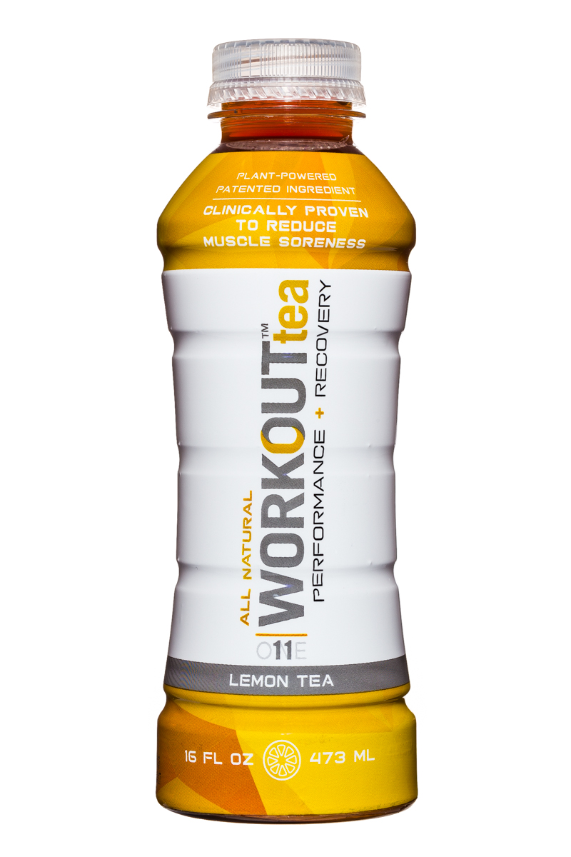 Workout Tea: WorkoutTea-16oz-LemonTea-Front
