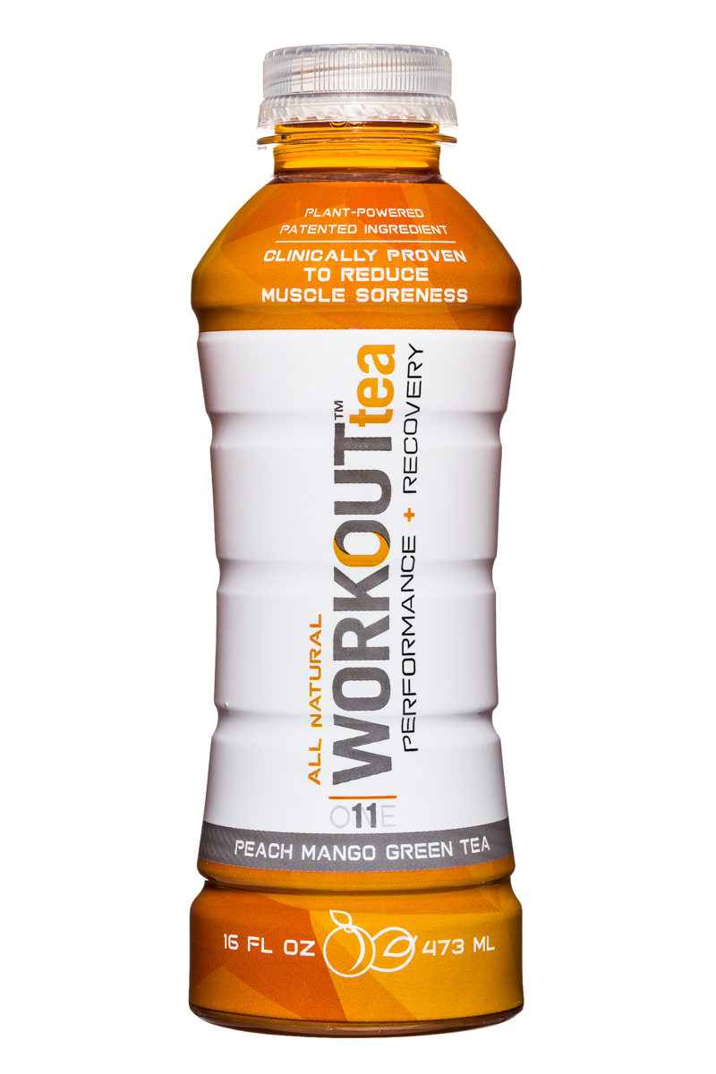 Workout Tea: WorkoutTea-16oz-PeachMangoGreenTea-Front