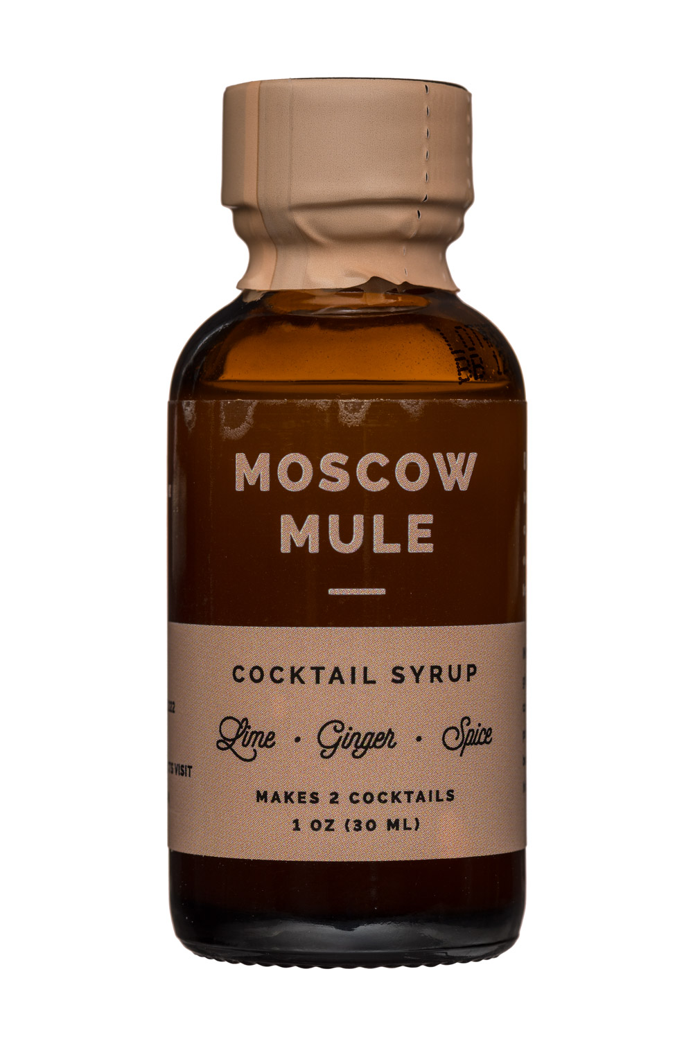 W&P Design: W&PDesign-1oz-CocktailSyrup-MoscowMule-Front