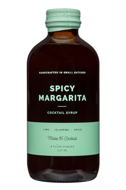 W&P Design: W&PDesign-8oz-CocktailSyrup-SpicyMargarita-Front