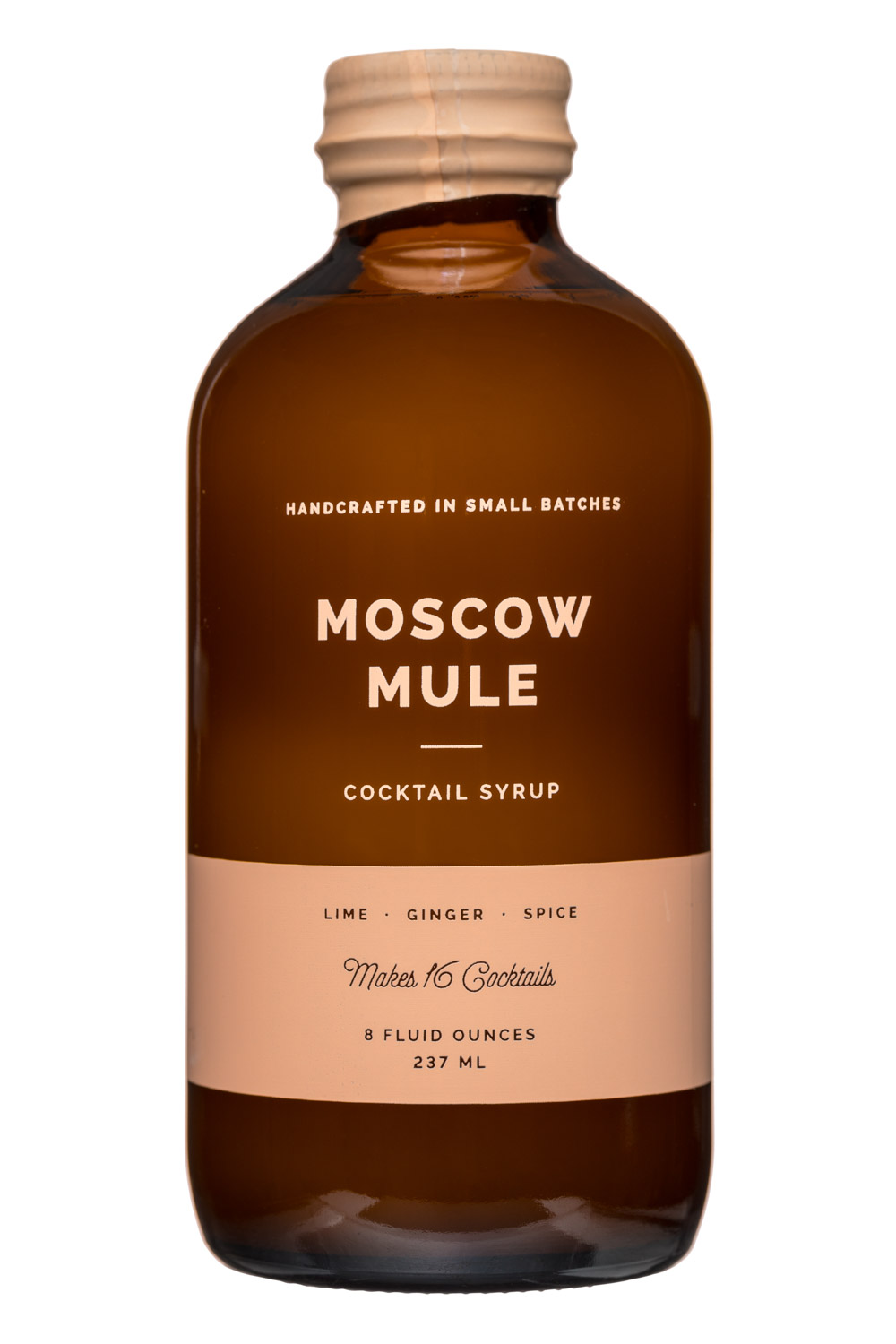 W&P Design: W&PDesign-8oz-CocktailSyrup-MoscowMule-Front