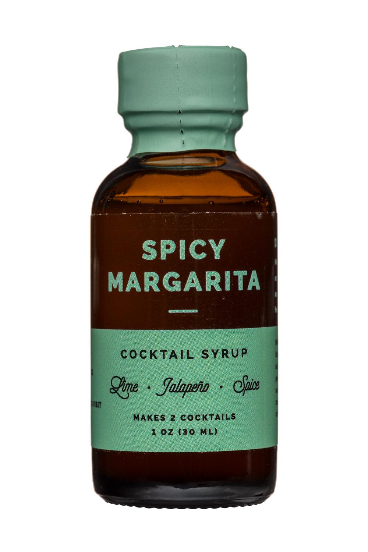 W&P Design: W&PDesign-1oz-CocktailSyrup-SpicyMargarita-Front