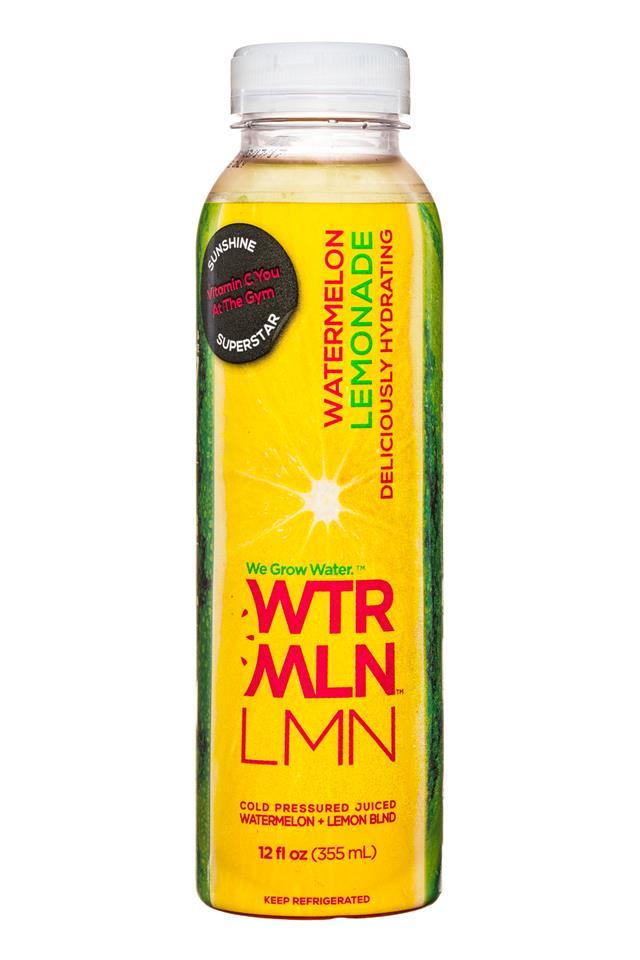 WTRMLN WTR: Wtrmln-12oz-Lemon-Front