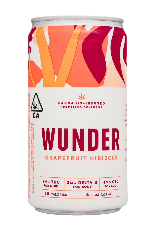 Wunder: Wunder-8oz-2020-SparklingCannabis-GrapefruitHibiscus-Front