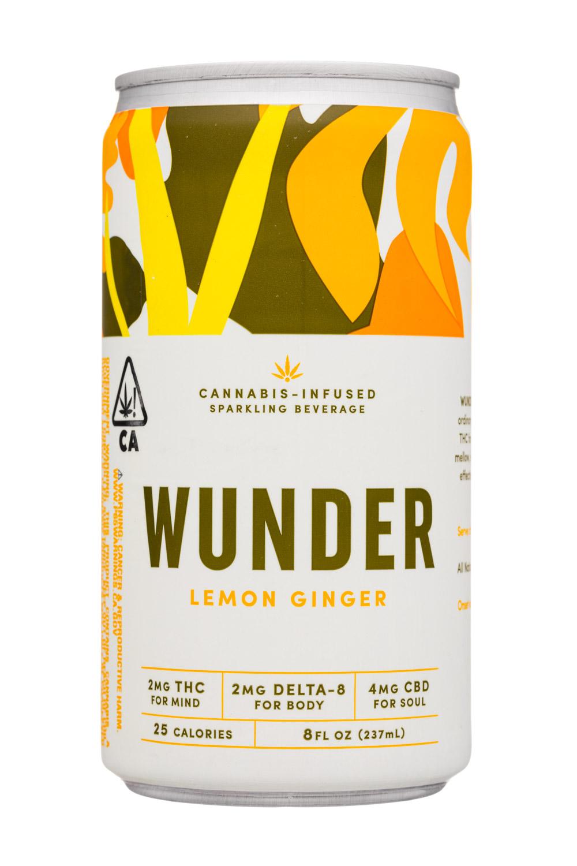 Wunder: Wunder-8oz-2020-SparklingCannabis-LemonGinger-Front