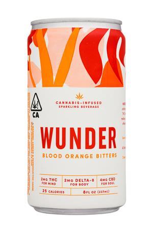 Wunder: Wunder-8oz-2020-SparklingCannabis-BloodOrangeBitters-Front