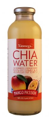 Mango Passion Seedless Chia Water