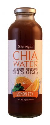 Lemon Tea Seedless Chia Water