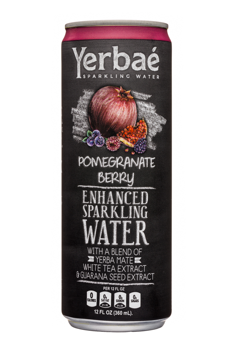 Yerbae: Yerbae-12oz-SparklingWater-PomBerry-Front