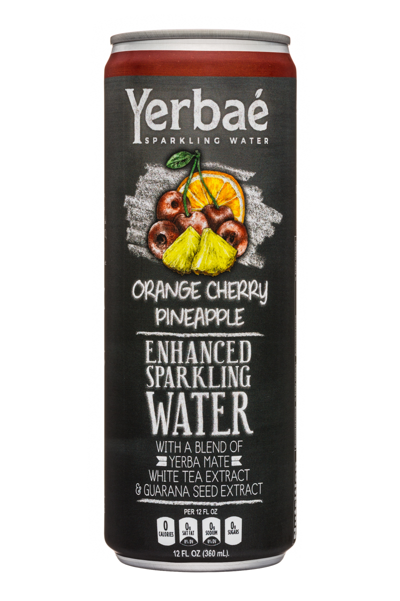 Yerbae: Yerbae-12oz-SparklingWater-OrangeCherryPineapple-Front