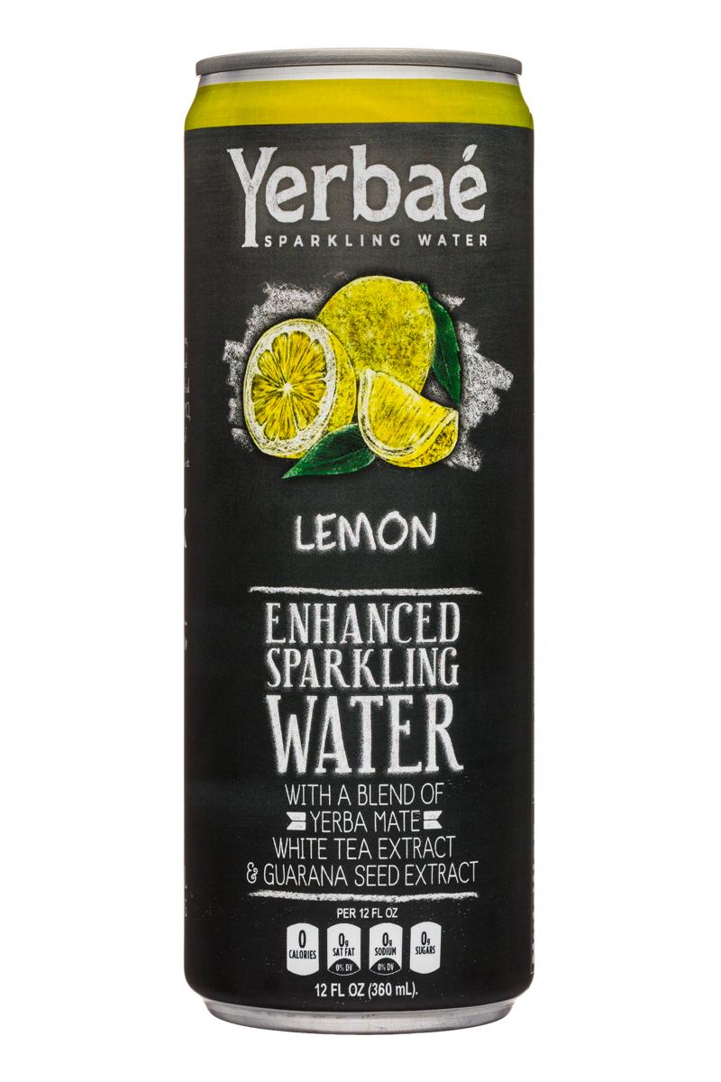 Yerbae: Yerbae-12oz-SparklingWater-Lemon-Front