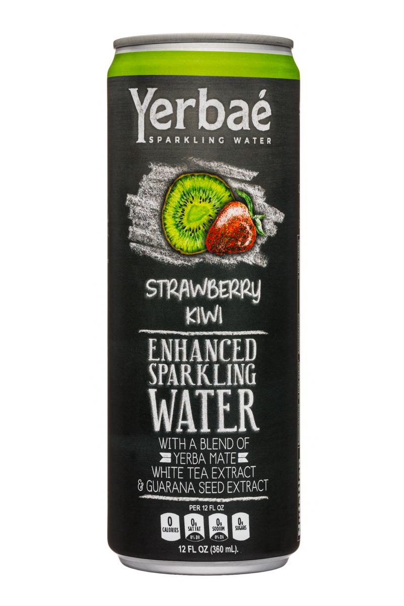 Yerbae: Yerbae-12oz-SparklingWater-StrawberryKiwi-Front