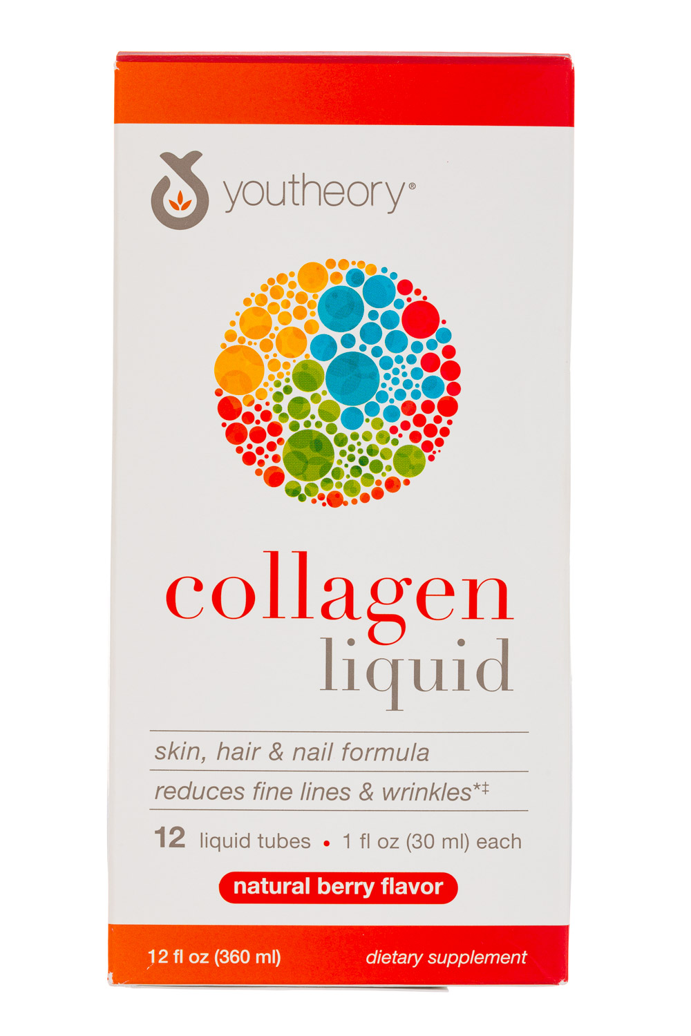 YouTheory: YouTheory-12oz-CollagenLiquid-NatBerry-Front