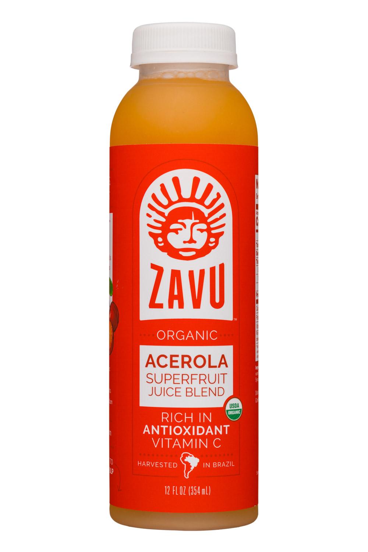 Zavu: Zavu-12oz-SuperfruitBlend-Acerola-Front